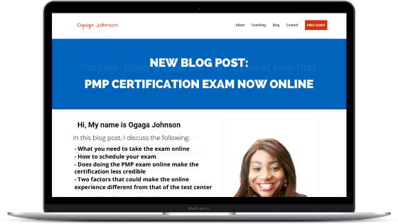 PMP certification exam online